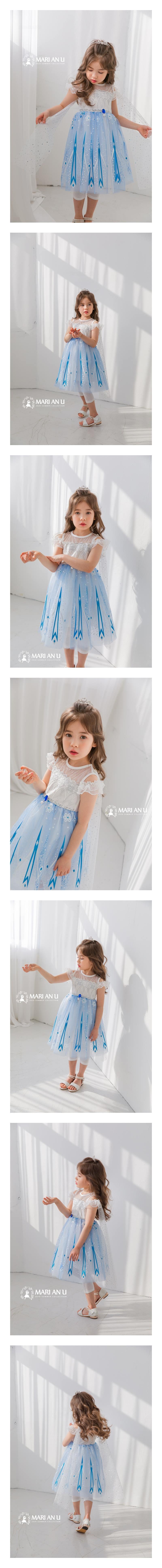 MARI AN U - Korean Children Fashion - #Kfashion4kids - Summer Queen One-piece
