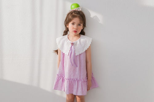 MARI AN U - BRAND - Korean Children Fashion - #Kfashion4kids - Collar One-piece