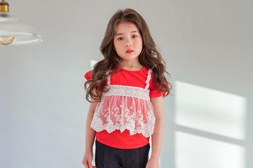 MARI AN U - BRAND - Korean Children Fashion - #Kfashion4kids - Bustier Tee