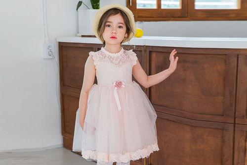 MARI AN U - BRAND - Korean Children Fashion - #Kfashion4kids - Rose One-piece