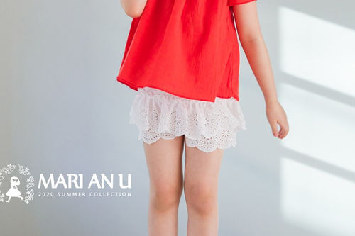 MARI AN U - BRAND - Korean Children Fashion - #Kfashion4kids - Lace Short Pants