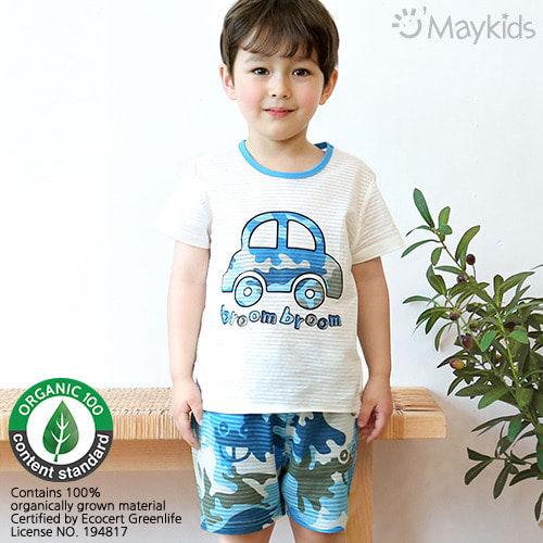MAYKIDS - BRAND - Korean Children Fashion - #Kfashion4kids - Military Car Playwear