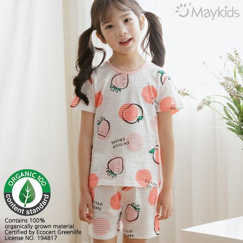 MAYKIDS - BRAND - Korean Children Fashion - #Kfashion4kids - Two-Tone Fruit Playwear