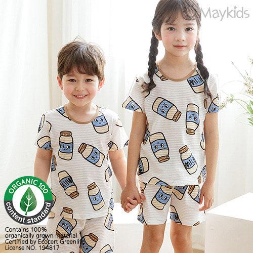 MAYKIDS - BRAND - Korean Children Fashion - #Kfashion4kids - Milk Playwear