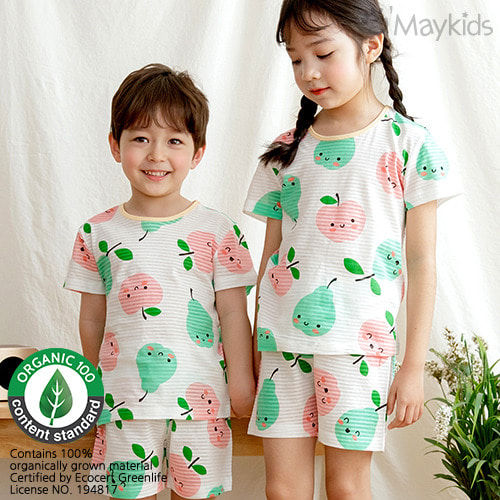 MAYKIDS - BRAND - Korean Children Fashion - #Kfashion4kids - Pear and Apple Playwear