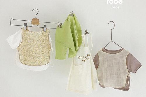 MINI ROBE - BRAND - Korean Children Fashion - #Kfashion4kids - Flower Bib