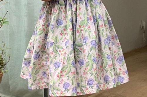 MINIMAL - BRAND - Korean Children Fashion - #Kfashion4kids - Summer Flower Skirt