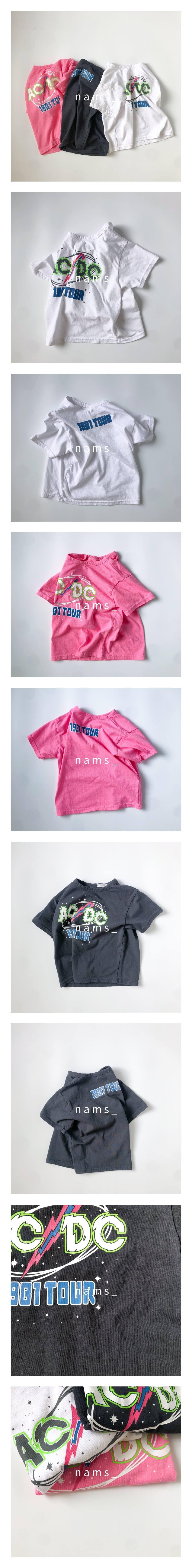 NAMS - Korean Children Fashion - #Kfashion4kids - Mom ACDC Boxy Tee