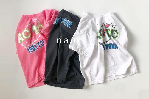 NAMS - BRAND - Korean Children Fashion - #Kfashion4kids - ACDC Boxy Tee