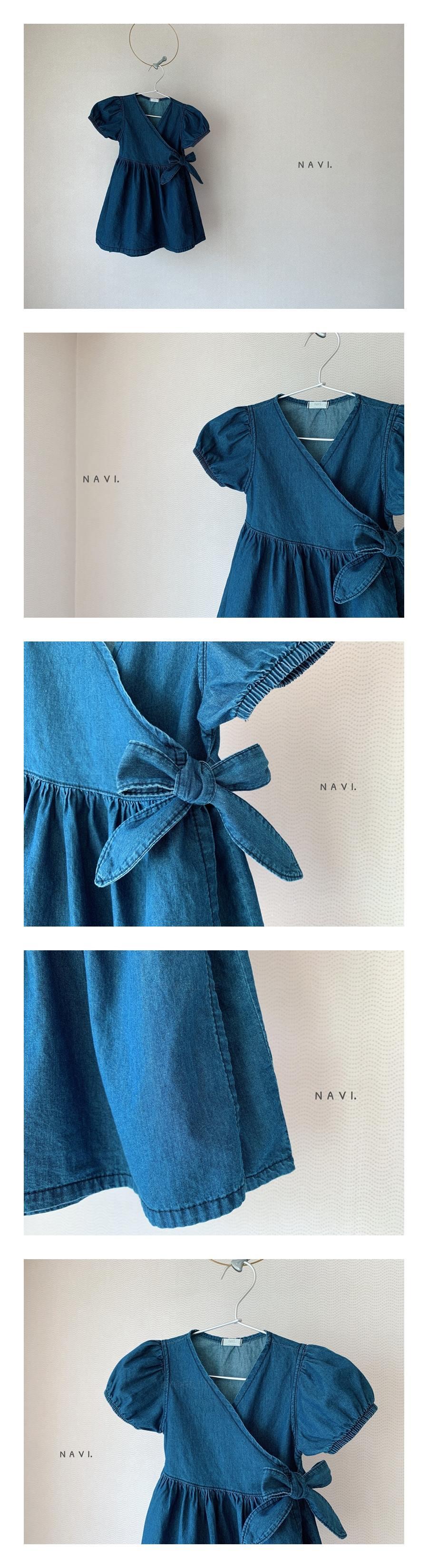 NAVI - Korean Children Fashion - #Kfashion4kids - Wrap One-piece
