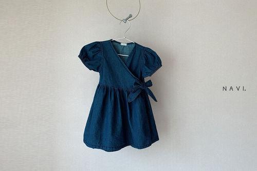 NAVI - BRAND - Korean Children Fashion - #Kfashion4kids - Wrap One-piece