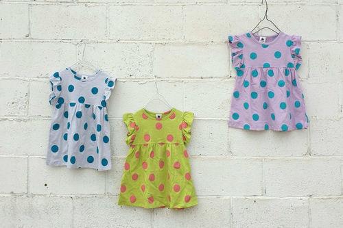 NESTAR - BRAND - Korean Children Fashion - #Kfashion4kids - Dot One-piece