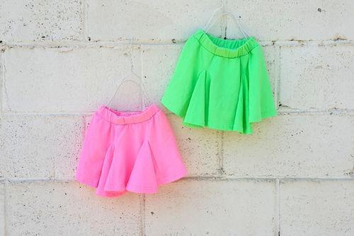 NESTAR - BRAND - Korean Children Fashion - #Kfashion4kids - Neon Skirt Pants