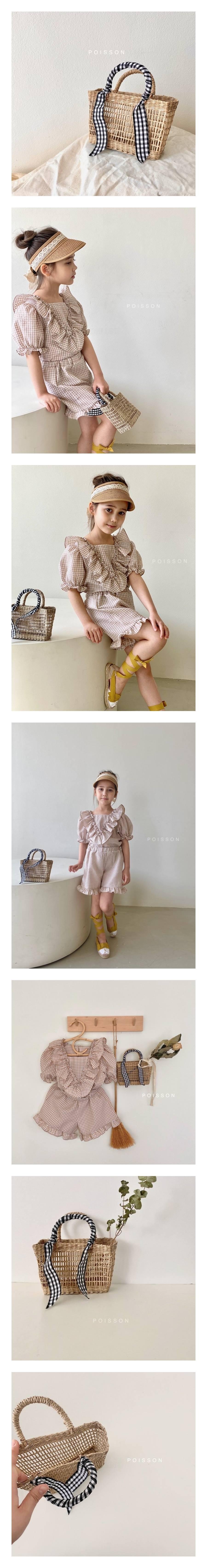 POISSON - Korean Children Fashion - #Kfashion4kids - Summer Mini Bag
