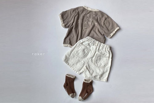 RAKER - BRAND - Korean Children Fashion - #Kfashion4kids - Cheetah Tee
