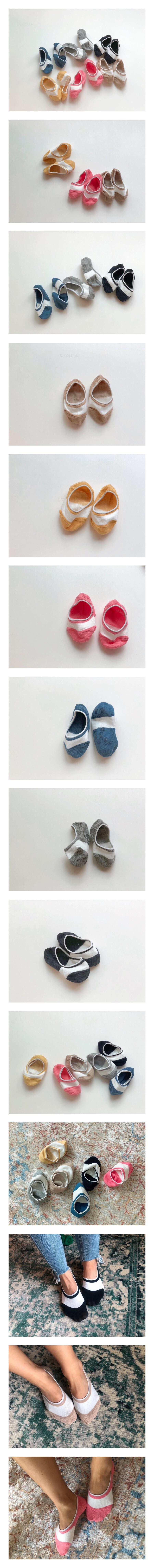 TEAMAND - Korean Children Fashion - #Kfashion4kids - Two Toned Fake Socks with Mom