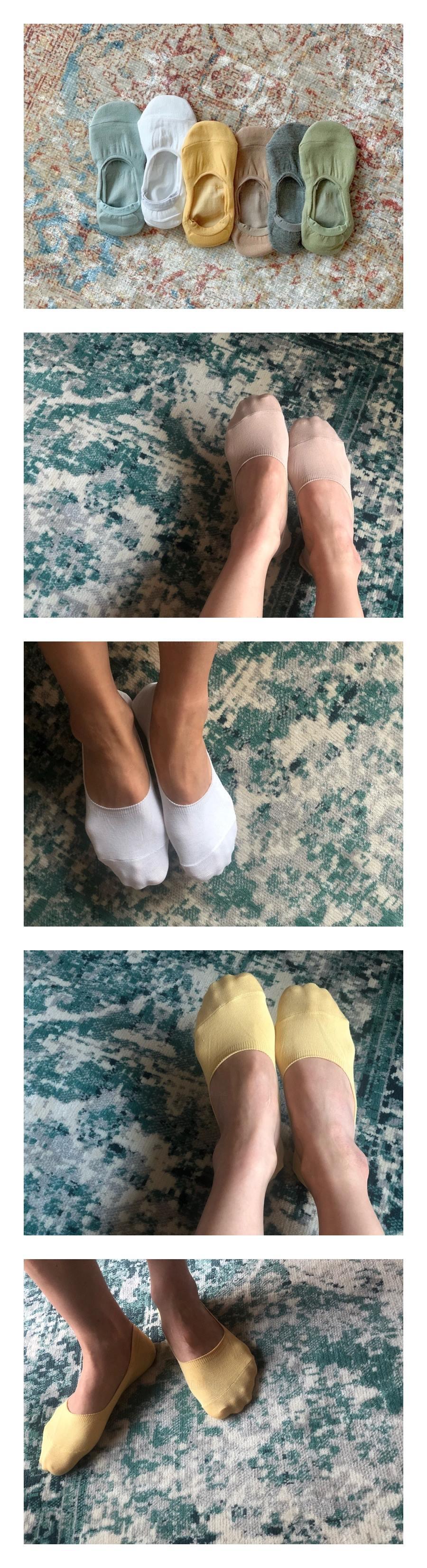 TEAMAND - Korean Children Fashion - #Kfashion4kids - Adult Fake Socks [set of 6]