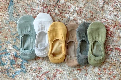 TEAMAND - BRAND - Korean Children Fashion - #Kfashion4kids - Adult Fake Socks [set of 6]