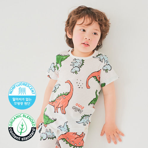 TTASOM - BRAND - Korean Children Fashion - #Kfashion4kids - Hello Dinosaur Easywear