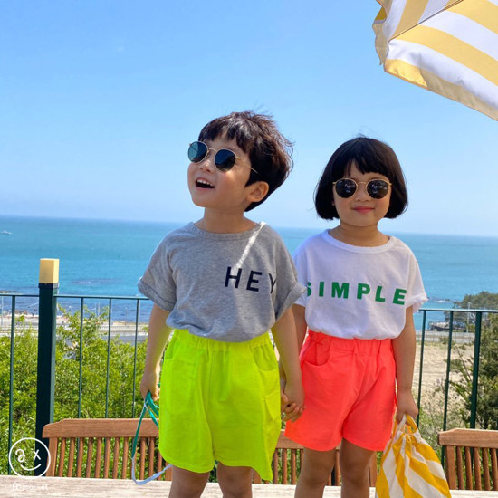 A-MARKET - Korean Children Fashion - #Kfashion4kids - Neon Cargo Pants - 10