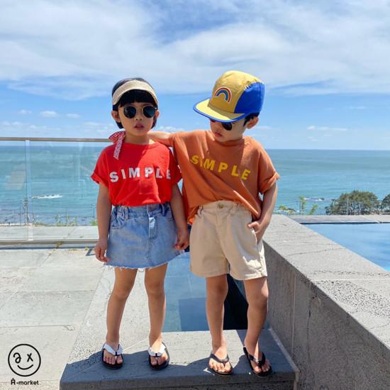 A-MARKET - Korean Children Fashion - #Kfashion4kids - Denim Skirt Pants - 4