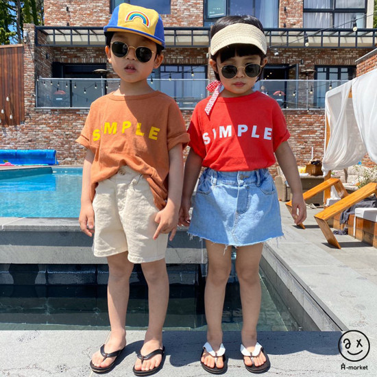 A-MARKET - Korean Children Fashion - #Kfashion4kids - Denim Skirt Pants - 5