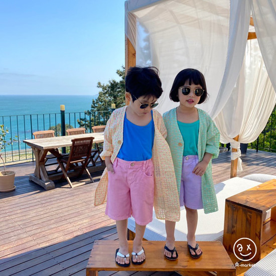 A-MARKET - Korean Children Fashion - #Kfashion4kids - Cream Half Pants - 9