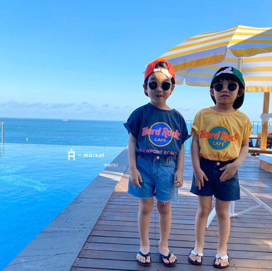 A-MARKET - Korean Children Fashion - #Kfashion4kids - Denim Short Pants - 10