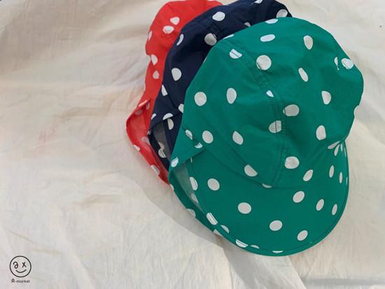 A-MARKET - Korean Children Fashion - #Kfashion4kids - Dot Swim Hat