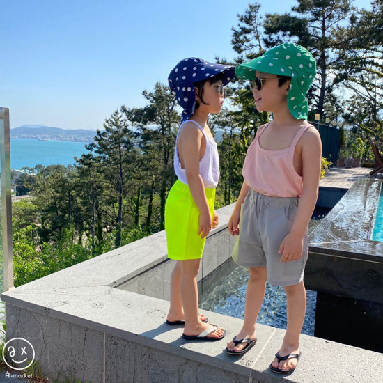A-MARKET - Korean Children Fashion - #Kfashion4kids - Dot Swim Hat - 10