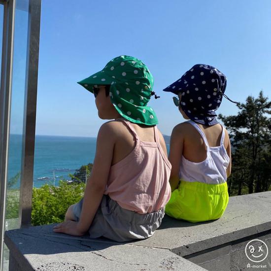 A-MARKET - Korean Children Fashion - #Kfashion4kids - Dot Swim Hat - 11