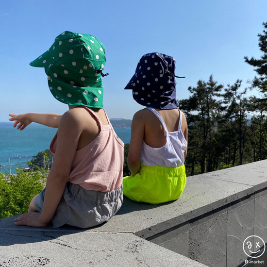 A-MARKET - Korean Children Fashion - #Kfashion4kids - Dot Swim Hat - 5