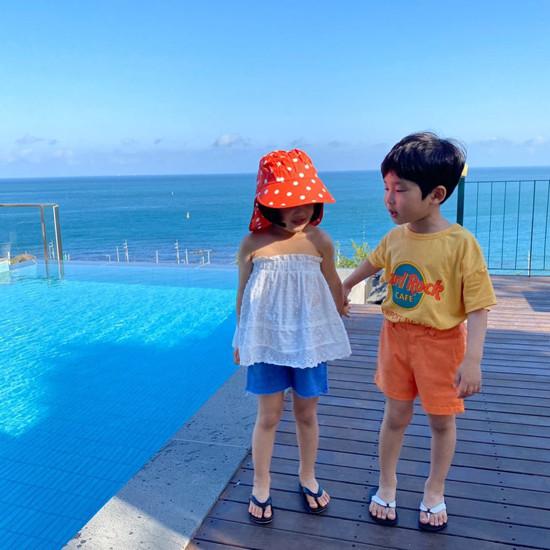 A-MARKET - Korean Children Fashion - #Kfashion4kids - Dot Swim Hat - 6