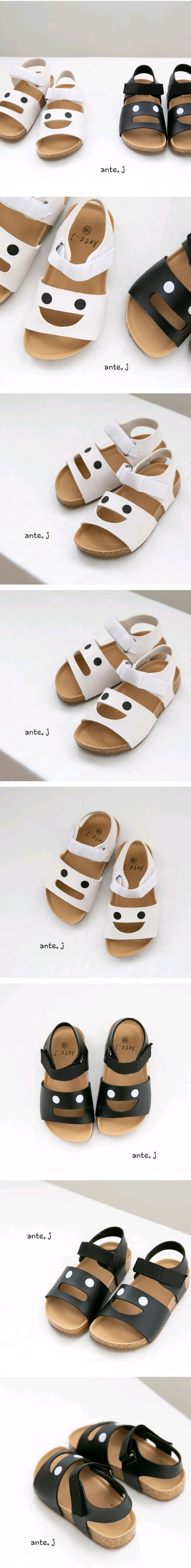 ANTE J - Korean Children Fashion - #Kfashion4kids - Face Sandal