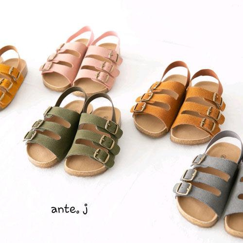 ANTE J - BRAND - Korean Children Fashion - #Kfashion4kids - Buckle Sandal