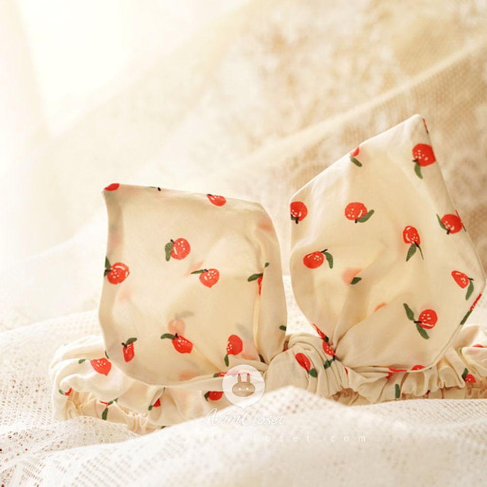 ARIM CLOSET - BRAND - Korean Children Fashion - #Kfashion4kids - Cute Apple Bunny Haiband