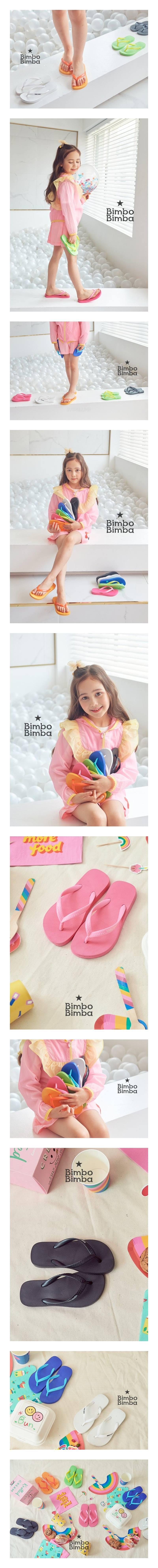 BIMBO BIMBA - Korean Children Fashion - #Kfashion4kids - Macaron Flip Flop