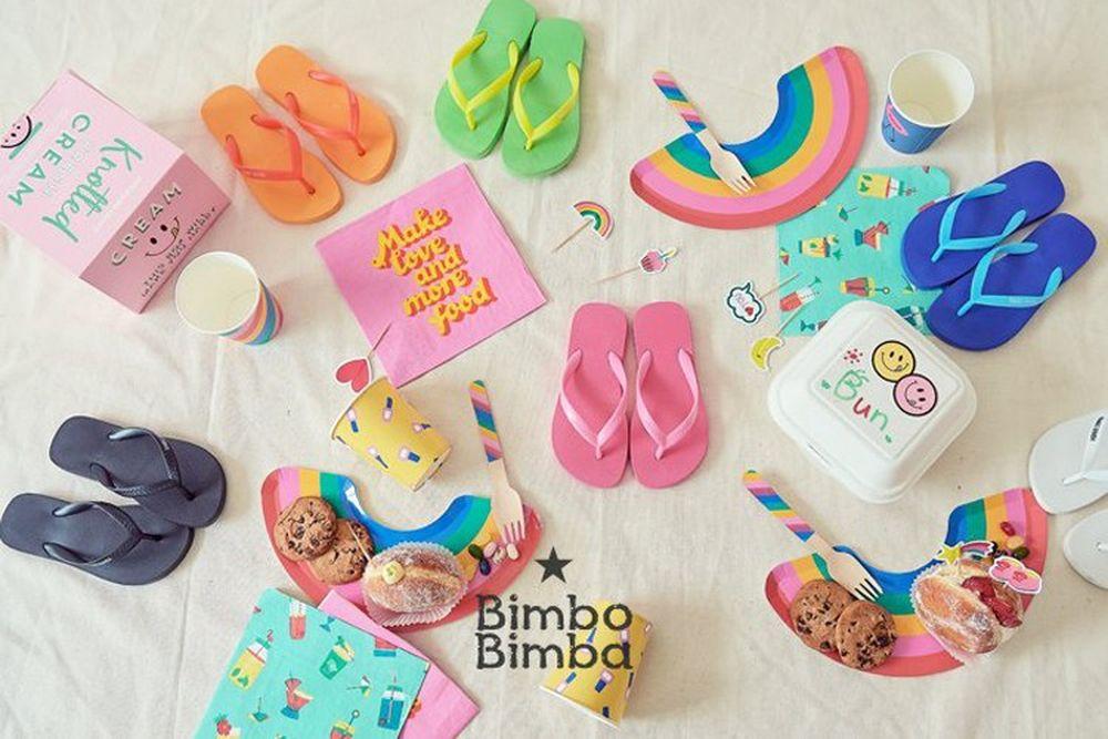 BIMBO BIMBA - BRAND - Korean Children Fashion - #Kfashion4kids - Macaron Flip Flop