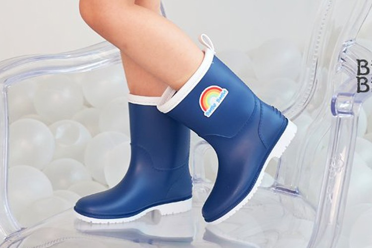 BIMBO BIMBA - BRAND - Korean Children Fashion - #Kfashion4kids - Rainbow Rainboots