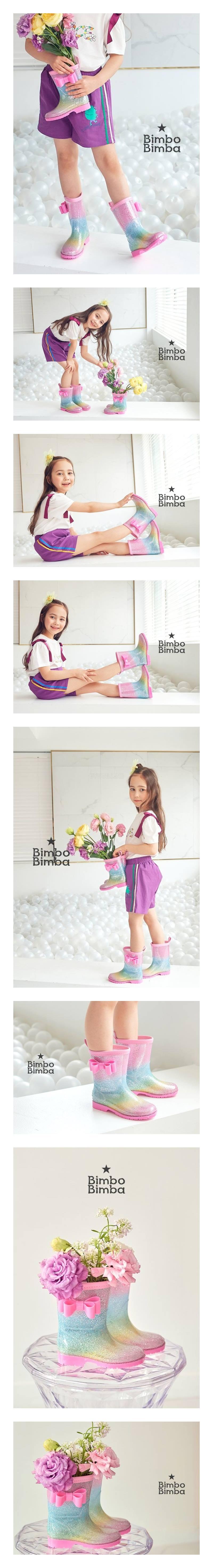BIMBO BIMBA - Korean Children Fashion - #Kfashion4kids - Bling Rainboots