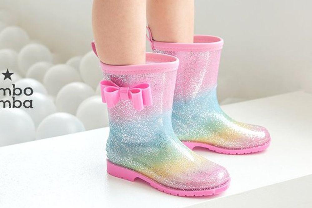 BIMBO BIMBA - BRAND - Korean Children Fashion - #Kfashion4kids - Bling Rainboots