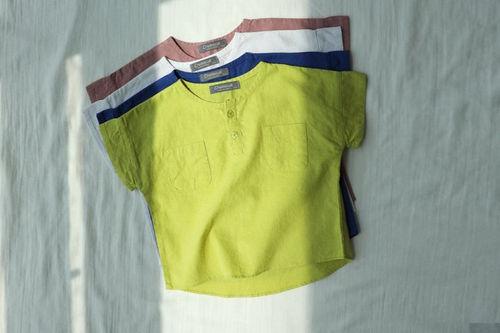 CREAMCOK - BRAND - Korean Children Fashion - #Kfashion4kids - Crazy Henlry Short Shirt