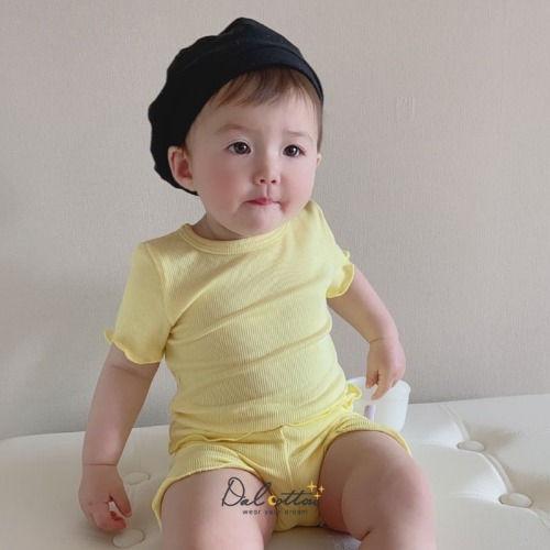 DAL COTTON - BRAND - Korean Children Fashion - #Kfashion4kids - Soft Rib Easywear