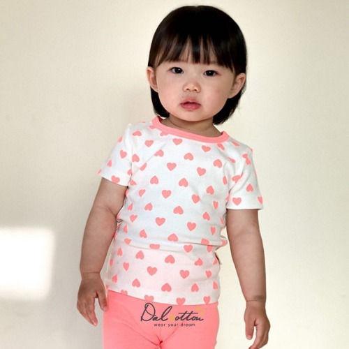 DAL COTTON - BRAND - Korean Children Fashion - #Kfashion4kids - Heart Beat Easywear