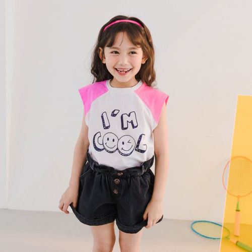 DORE DORE - BRAND - Korean Children Fashion - #Kfashion4kids - Raglan Cool Tee