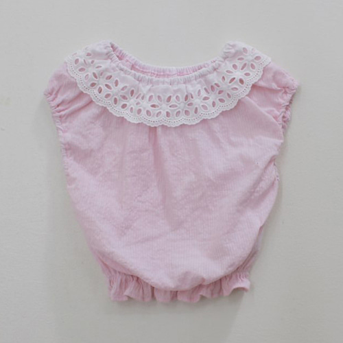 G.NEE - BRAND - Korean Children Fashion - #Kfashion4kids - Milk Blouse