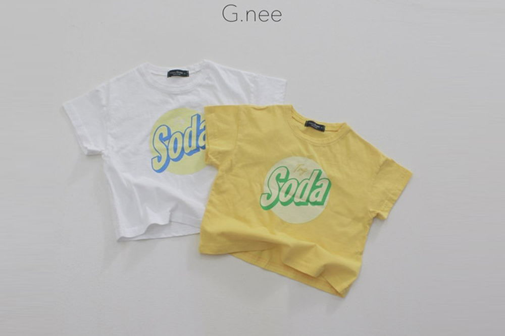 G.NEE - BRAND - Korean Children Fashion - #Kfashion4kids - Soda Tee