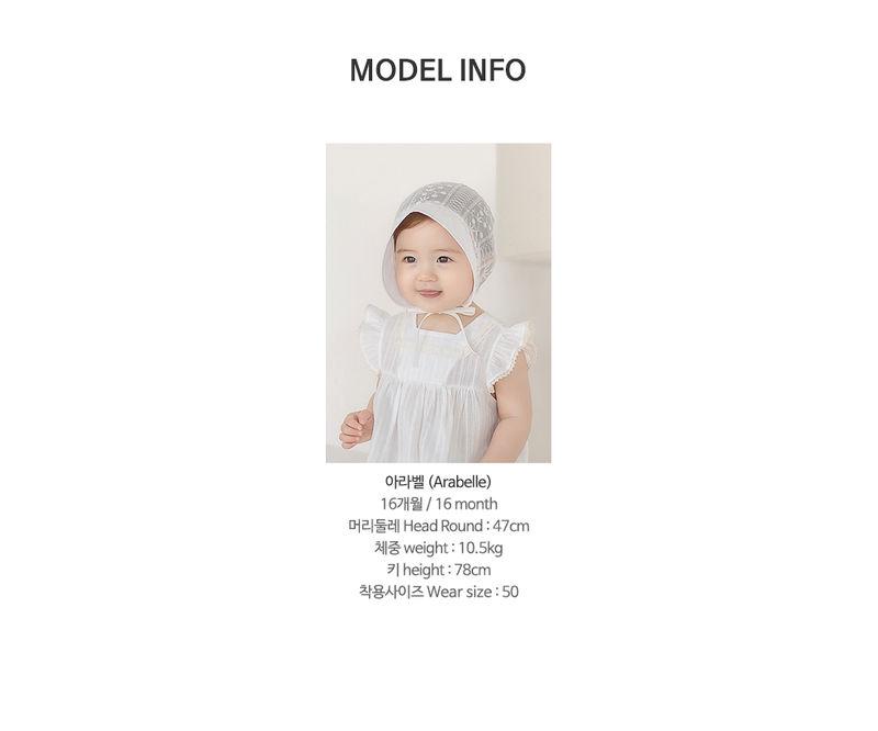 HAPPY PRINCE - Korean Children Fashion - #Kfashion4kids - Iris Baby Bonnet - 10