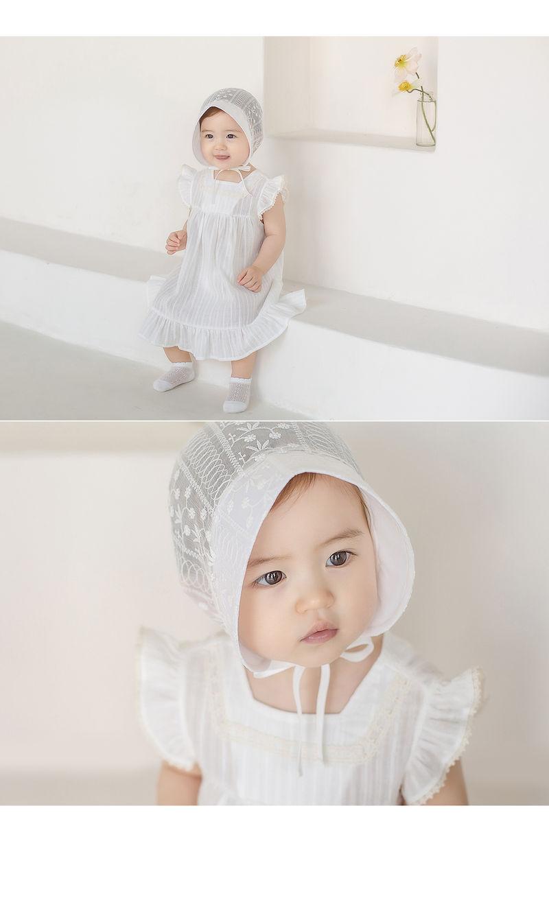 HAPPY PRINCE - Korean Children Fashion - #Kfashion4kids - Iris Baby Bonnet - 2