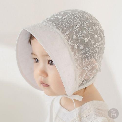 HAPPY PRINCE - BRAND - Korean Children Fashion - #Kfashion4kids - Iris Baby Bonnet
